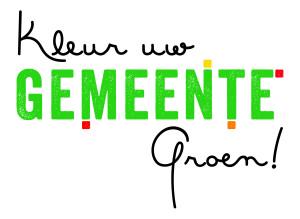 Logo 'Kleur uw gemeente Groen'