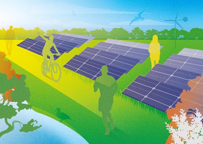 1,65 miljoen van de Postcode Loterij voor Energietuinen