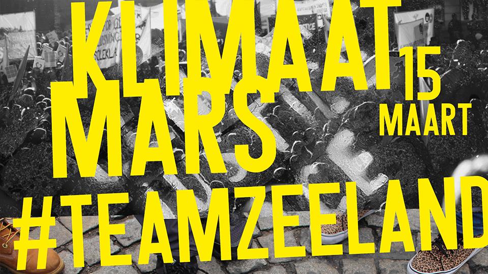 Klimaatmars: Zeeuwse editie op 15 maart