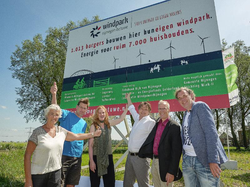 Exponentiele groei energie opwek door lokale energiecoöperaties