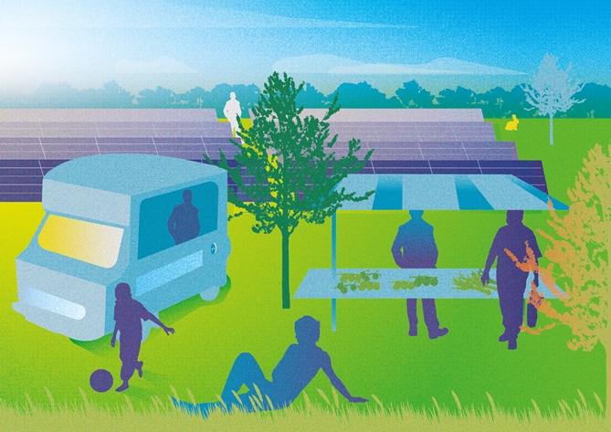 Duurzame energie én natuur in Energietuin de Noordmanshoek