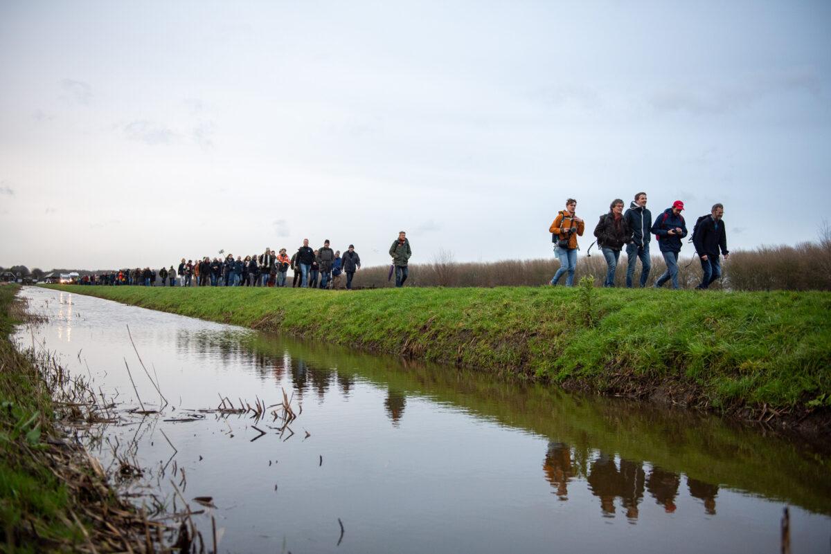 Hoopvol geluid over landbouw bij Kring-loop