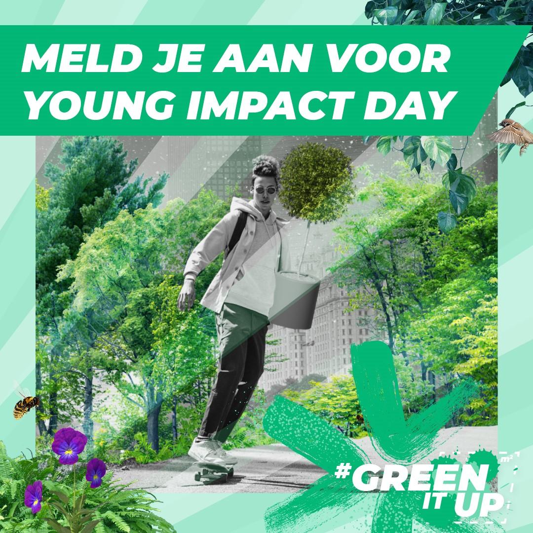Young Impact Day: zo vergroen je Nederland samen met andere jongeren