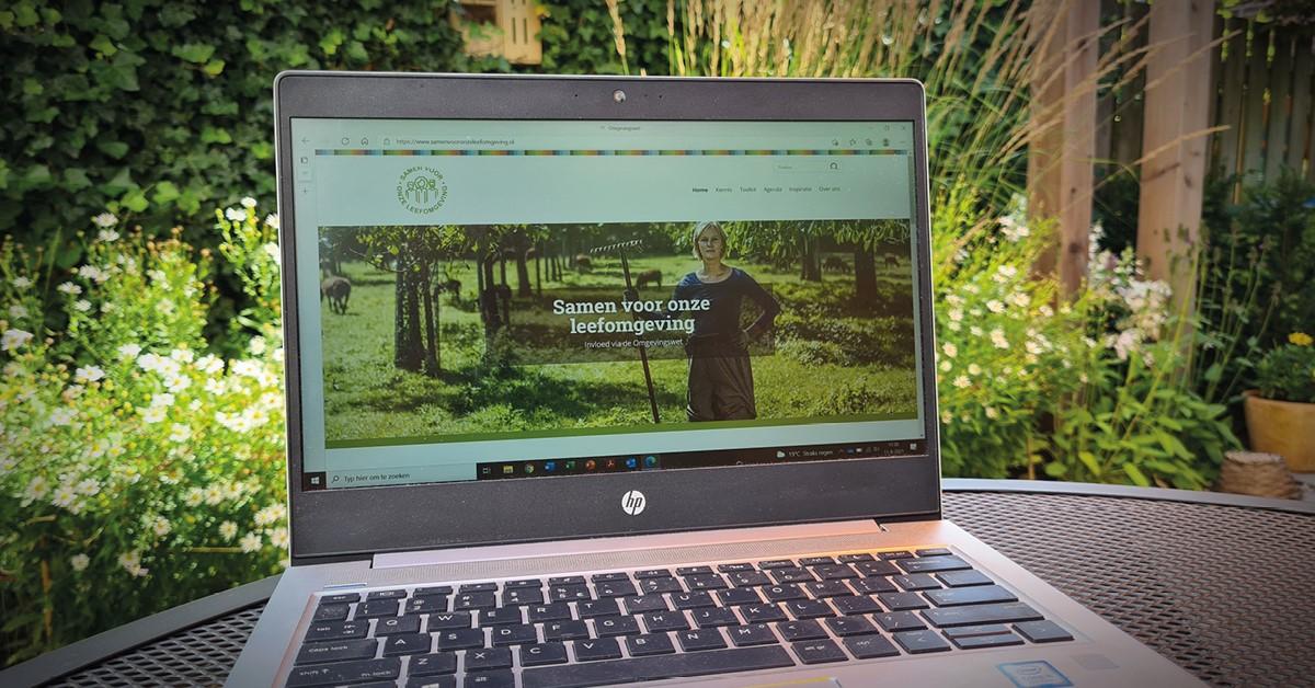 Nieuwe Omgevingswet: natuurorganisaties lanceren website Samen voor onze leefomgeving